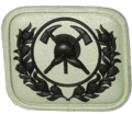 SANDF Qualification Senior Fire Fighter badge embossed.png