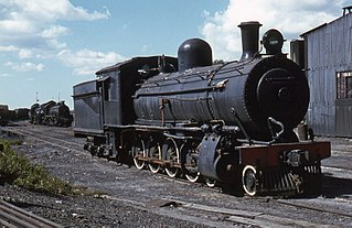 South African Class 8A 4-8-0 class of 40 South African 4-8-0 locomotives