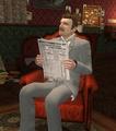 SH5 - Watson lisant le journal.png