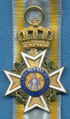 Military Order of St. Henry - Image: SHM Order Knight's Cross