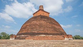 Jetavanaramaya, Anuradhapura (Sri Lanka).  (todellinen määritelmä 5981 × 3364)