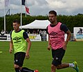 SM Caen vs UNFP, July 30th 2016 - Delaplace Da Silva.jpg