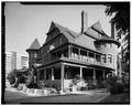 SOUTH AND EAST SIDES - Alfred W. McCune House, 200 North Main Street, Salt Lake City, Salt Lake County, UT HABS UTAH,18-SALCI,27-8.tif