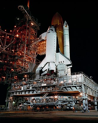 STS-28 - Image: STS 28 Rollout GPN 2000 000669