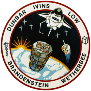 Daniel Brandenstein - Image: STS 32 patch