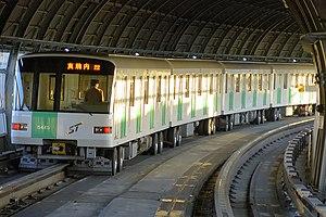Namboku Line (Sapporo) - 5000 series EMU near Minami-Hiragishi Station