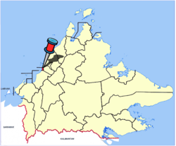 Location of Putatan Town