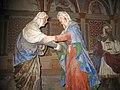 Sacro Monte di Varallo-Cappella III-La Visitazione.JPG