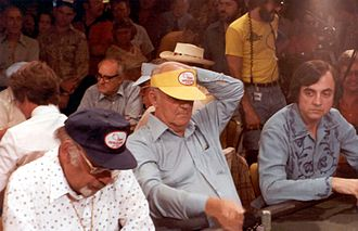 Sailor Roberts - Sailor Roberts (center) at the 1979 World Series of Poker