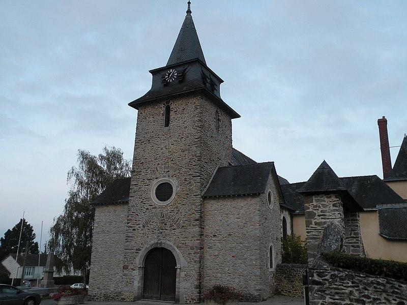 Church of Saint-Berthevin.