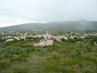 Saint-Remèze - A general view of Saint-Remèze