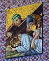 Saint Mary Magdalene Church (Columbus, Ohio) - Station of the Cross 9.jpg