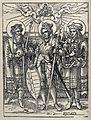 Saint Stephen, Saint Ladislas with Saint Emeric and Saint Ma Wellcome V0033202.jpg