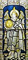 Saint Uriel - stained glass window in the cloisters of Chester Cathedral.jpg