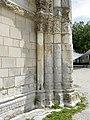 Saintes (17) Abbatiale Sainte-Marie-aux-Dames Façade occidentale 08.JPG