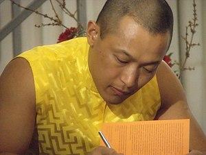 Sakyong Mipham - Image: Sakyong, book signing