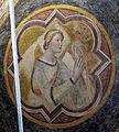 Sala capitolare di s. felicita, volta con virtù di di niccolò gerini, 1390 ca. speranza.JPG