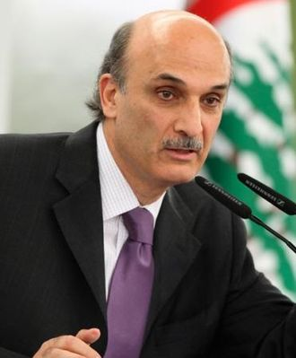 2009 Lebanese general election - Image: Samir Geagea (cropped)