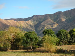 Zambales - The Zambales Mountains seen from San Antonio
