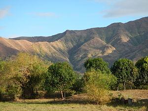 Zambales - The Zambales Mountains seen from San Antonio