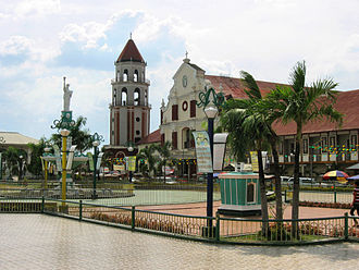 San Carlos, Pangasinan - St. Dominic Church and city plaza