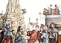 San Cesario diacono assiste al sacrificio del giovane Luciano (Pisco Montano).jpg