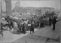 San Francisco Earthquake of 1906, Receiving stores at Moulder Warehouse - NARA - 522935.tif