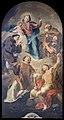 San Giacomo dall'Orio (Venice) - La Vergine e il Bambino in gloria con Sant'Antonio, San Giuseppe, San Giacomo, San Lorenzo e San Sebastiano (1764) - Giovanni Battista Pittoni.jpg