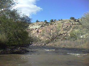 San Miguel River (Colorado) - San Miguel at Naturita