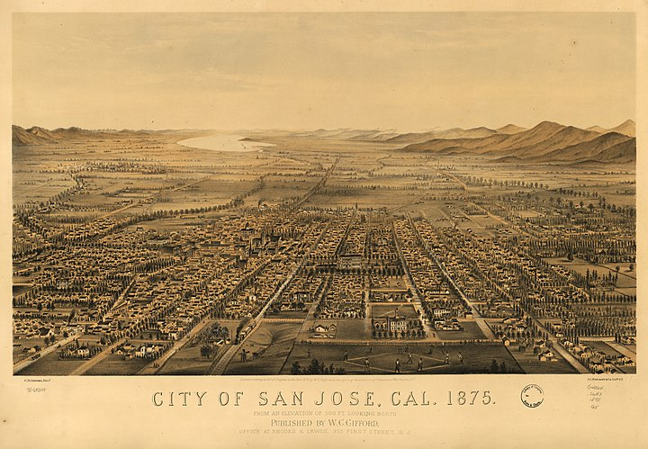 San jose california 1875