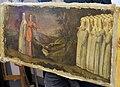San vincenzo, prato, prima chiesa, santi di tito (bottega), sportello con s. caterina de' ricci condotta dagli angeli alla presentazione di gesù al tempio 02.jpg