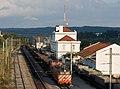 Sand train with locomotive 2502 in Alcacer do Sal train station.jpg