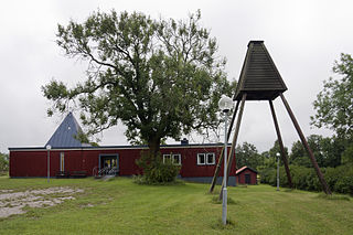 Saint Olafs chapel (Byxelkrok) church building in Borgholm Municipality, Sweden