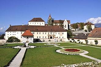 Saint Paul's Abbey, Lavanttal - Image: Sankt Paul im Lavanttal Stift Gesamtanlage 03102012 232