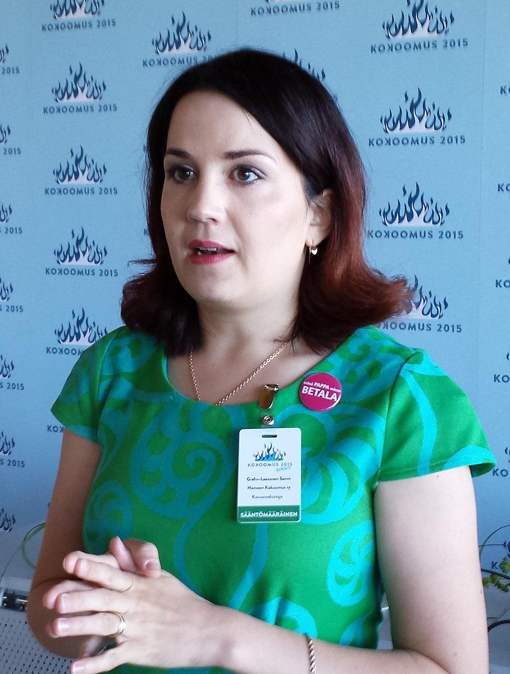 Finlands undervisningsminister Sanni Grahn-Laasonen.
