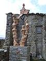 Sant Esteve de la Sarga. Castellnou de Montsec. Monument a Gaspar de Portolà.JPG