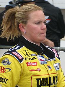 Sarah Fisher 2009 Indy 500 Pole Day.JPG