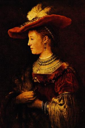 Saskia van Uylenburgk - Rembrandt Harmenszoon ...