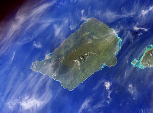 NASA image of Savaiʻi