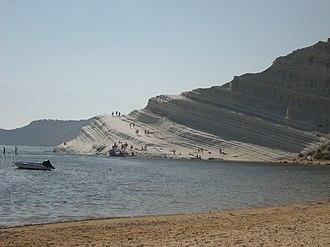 Marl - Scala dei Turchi coastal marl formation, southern Sicily