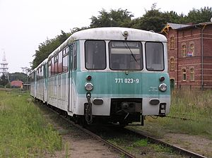 DR Class VT 2.09 -  Withdrawn units stabled in Heringsdorf