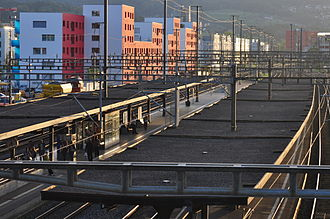 Schlieren railway station - Image: Schlieren Bahnhof 2011 09 06 19 27 12