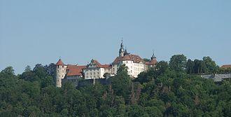 Langenburg - Image: Schloss Langenburg 260604