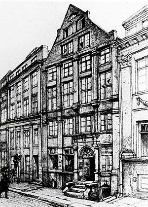 Adele Schopenhauer - Residence and business office of the Schopenhauer family until 1805, located at New Wandrahm 92, Hamburg (since demolished, today Speicherstadt)