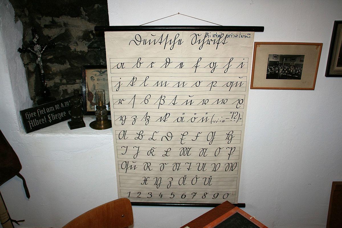 deutsche schrift � wikipedia