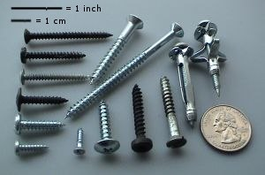 Screw - An assortment of screws