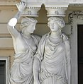 Sculptures-cariates on the left side of the portal.jpg