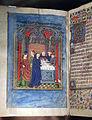 Scuola franco-fiamminga, libro d'ore, febbraio (purificazione di maria), renania 1450 circa 02.JPG