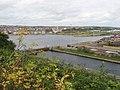 Sea lock at Barry docks - geograph.org.uk - 1888088.jpg