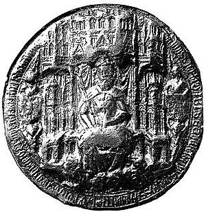 Dabiša of Bosnia - Dabiša's 1395 seal